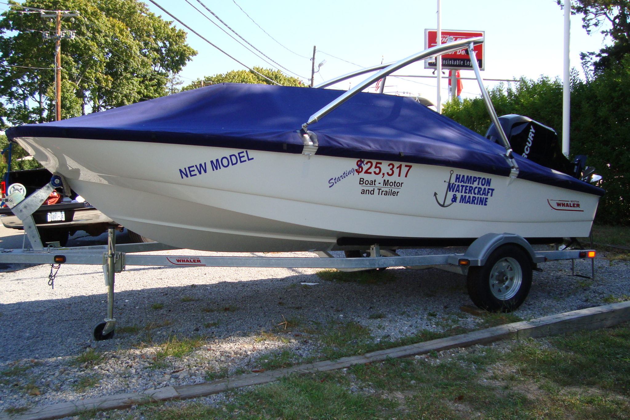 Mooring Covers for Boston Whaler® Boats | Wm  J  Mills & Co