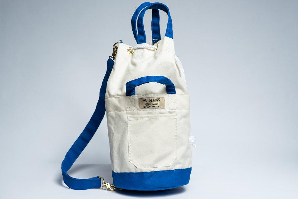 Vintage Canister Bag Wm J Mills Amp Co