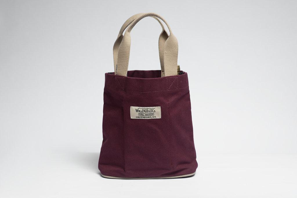 Vintage Wine Tote Wm J Mills Amp Co